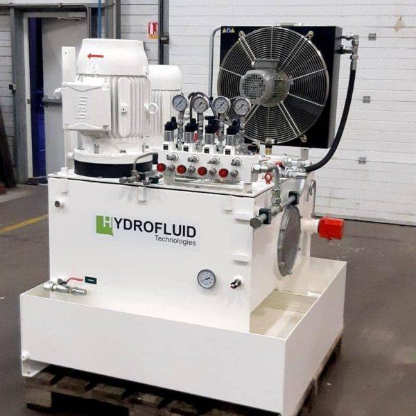 conception d'une centrale hydraulique pour l'industrie agroalimentaire par hydrofluid technologies à caudan