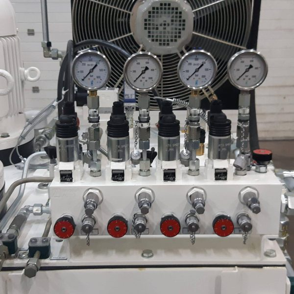 centrale hydraulique caudan