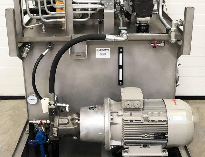 une centrale hydraulique industrielle pour l'insdustrie automobile