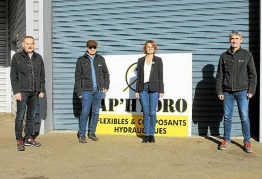 Hydrofluid technologies s'agrandit et rachète l'entreprise AP'HYDRO à Morlaix