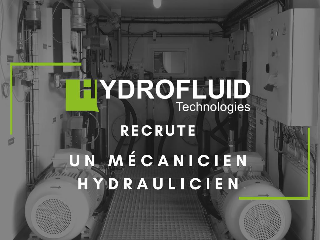 offre d'emploi pour un mécanicien hydraulicien