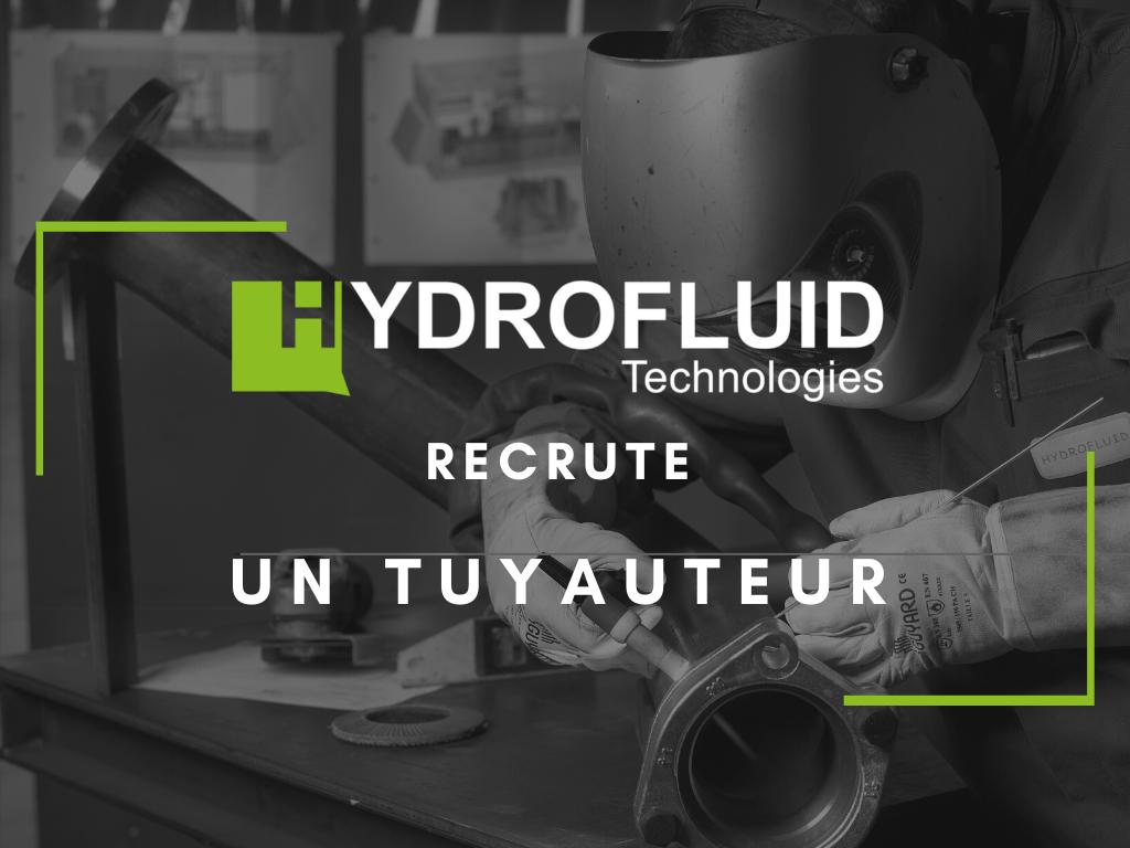 offre d'emploi pour un tuyauteur dans l'industrie hydraulique