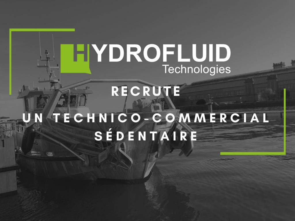 offre d'emploi technico commercial sédentaire en hydraulique